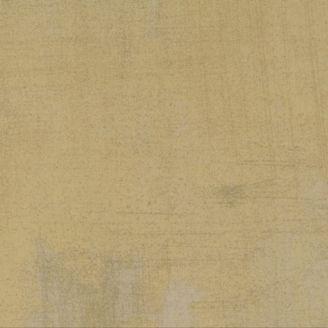 Tissu patchwork faux-uni patiné beige kraft - Grunge de Moda