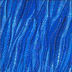 Tissu patchwork mouvements de l'eau bleue - Dreamscapes