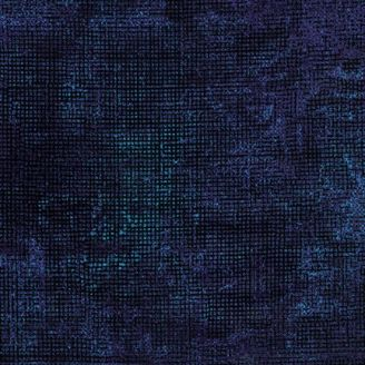 Tissu patchwork vintage bleu indigo - Chalk and Charcoal