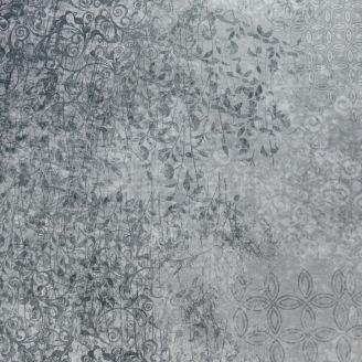Tissu patchwork faux-uni Scrollscapes Gris fumée