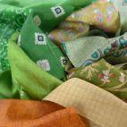 Saris recyclés - Darjeeling