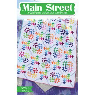 Main Street - Modèle de patchwork