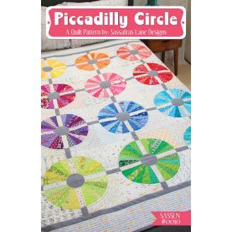 Piccadilly Circle - Modèle de patchwork