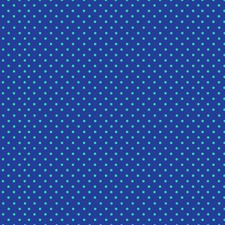 Tissu patchwork pois fond bleu - Katie's cats