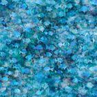 Tissu patchwork bancs de poissons bleus - Aquatica