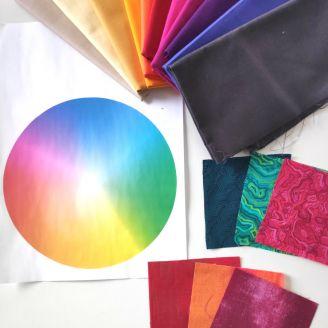 La théorie de la couleur appliquée au patchwork - Cours en ligne