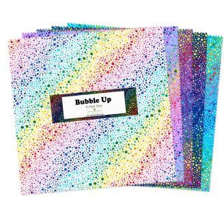 Layer Cake de tissus bulles multicolores Bubble Up