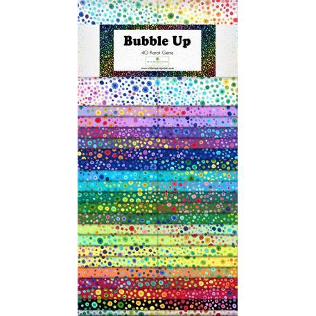 Jelly roll de tissus bulles multcicolores Bubble Up