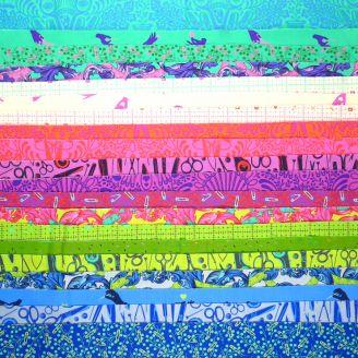 Joli roll de tissus patchwork Homemade de Tula Pink