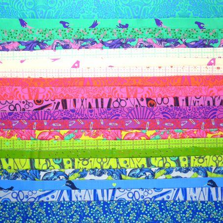 Charm pack de tissus Homemade de Tula Pink