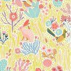 Tissu patchwork cactus et animaux - Prickly Pear