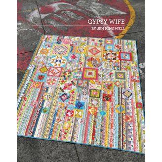 Gypsy Wife par Jen Kingwell - Modèle de patchwork