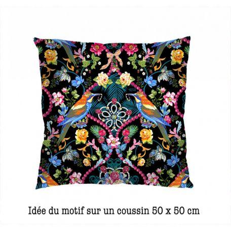 Velours Odile Bailloeul Bijoux de la Reine noir