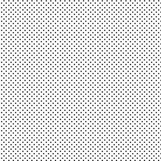 Tissu patchwork minis pois noirs sur fond blanc