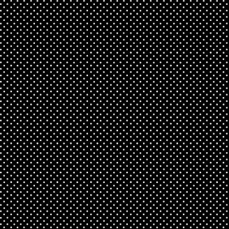 Tissu patchwork minis pois blancs sur fond noir