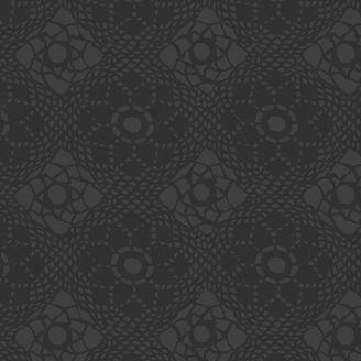 Tissu patchwork Crochet noir - Handiwork d'Alison Glass