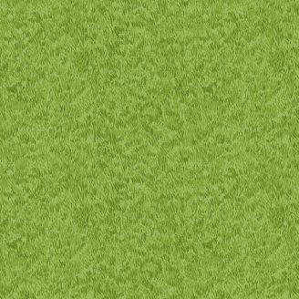 Tissu patchwork gazon tondu vert tendre G3