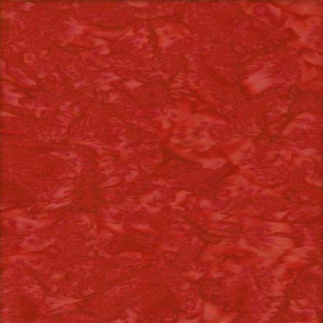 Tissu batik marbré rouge fraise