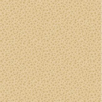 Tissu patchwork pois asymétriques ton sur ton crème