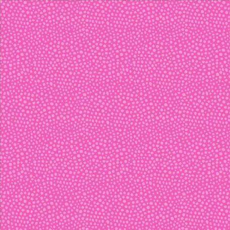 Tissu patchwork pois roses ton sur ton - Primavera