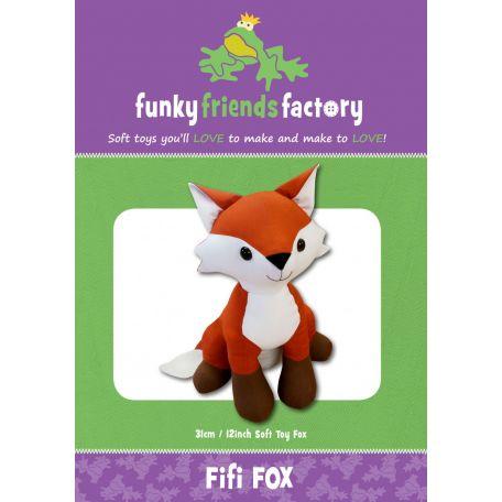 Patron de couture Fifi the Fox (le Renard) - jouet à coudre