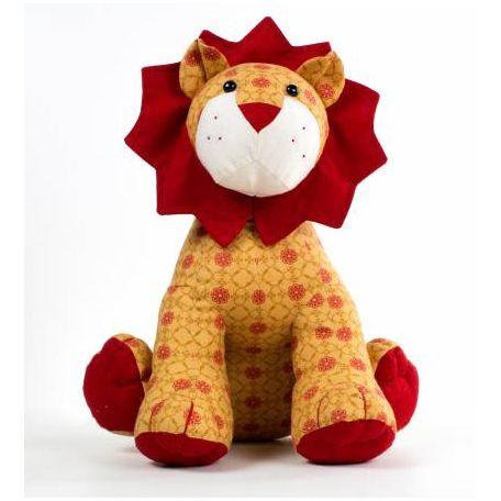 Patron de couture Larry le Lion - jouet à coudre