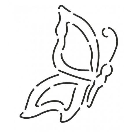 Stencil Papillon 10 cm