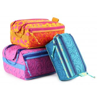 Patron de la trousse Double Zip Gear Bag 2.0 - By Annie (en anglais)
