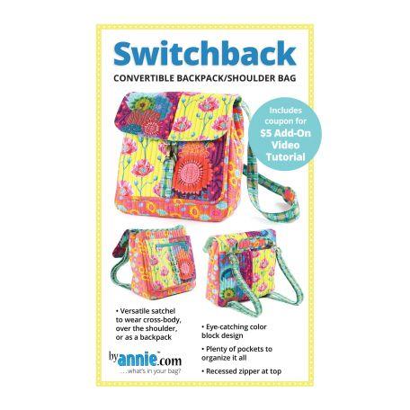 Patron du sac convertible Switchback - By Annie (en anglais)