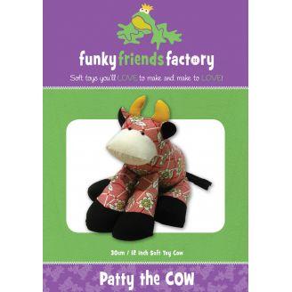 Patron de couture Patty la Vache - jouet à coudre