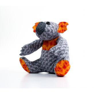 Patron de couture Kiki le Koala - jouet à coudre (en anglais)