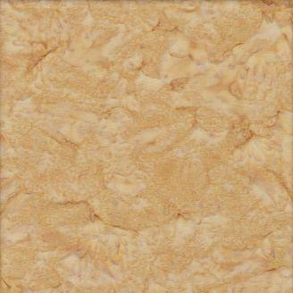Tissu batik marbré crème caramel
