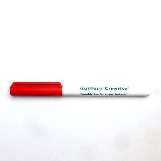 Feutre rouge effaçable pour surfaces en acrylique Sew Steady