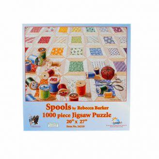 Puzzle 1000 pièces - Spools