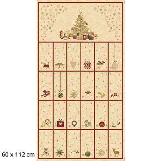 Calendrier de l'Avent beige - Christmas is near