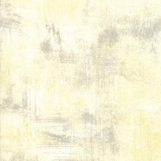 Tissu patchwork faux-uni patiné Crème - Grunge de Moda