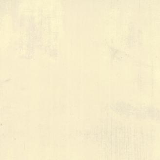 Tissu patchwork grande largeur faux-uni patiné crème Manille - Grunge de Moda