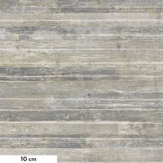 Tissu patchwork Tim Holtz bardage en bois gris vielli - Monochrome
