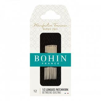 Aiguilles demies-longues Patchwork n°12 de Bohin