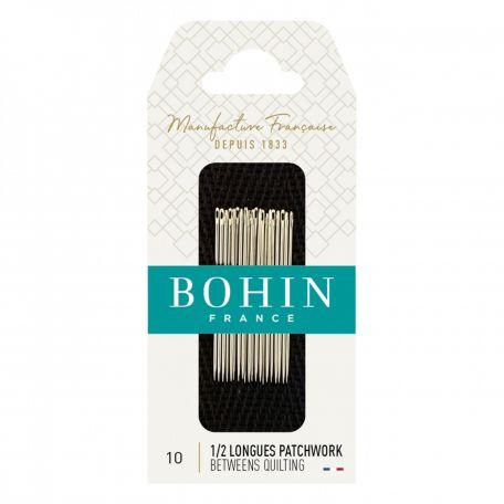 Aiguilles 1/2 longues Patchwork n°10 de Bohin