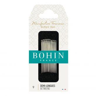 Aiguilles 1/2 longues Patchwork n°9 de Bohin