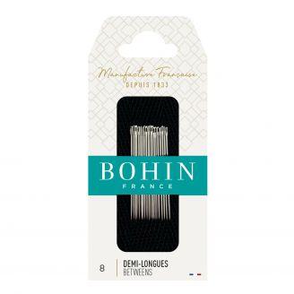 Aiguilles 1/2 longues Patchwork n°8 de Bohin
