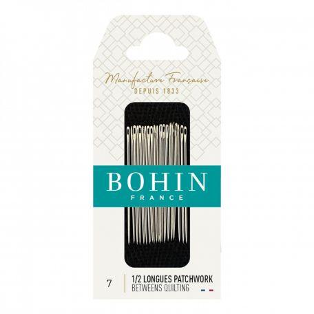 Aiguilles 1/2 longues Patchwork n°7 de Bohin
