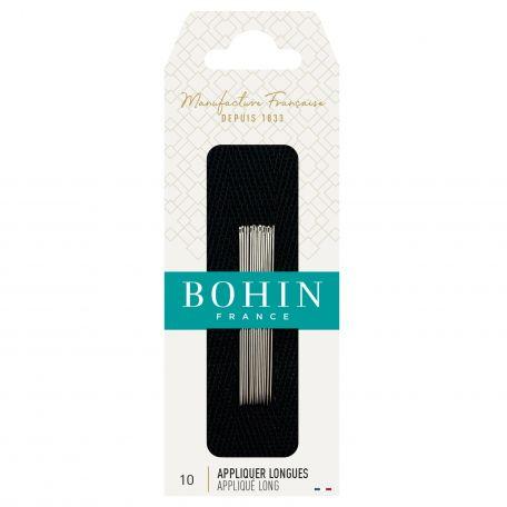 Aiguilles à Appliquer longues n°10 de Bohin