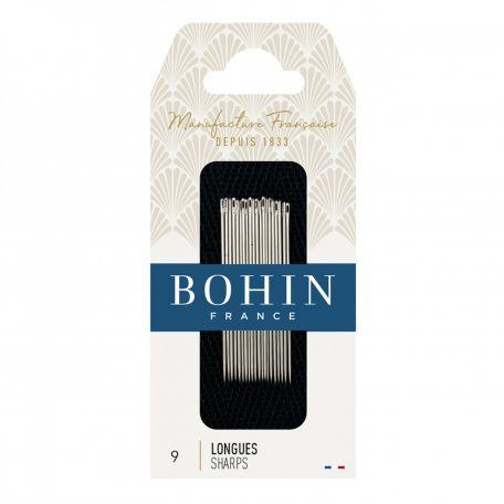 Aiguilles à coudre longues n°9 de Bohin