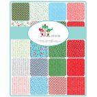 Charm Pack de tissus patchwork The North Pole