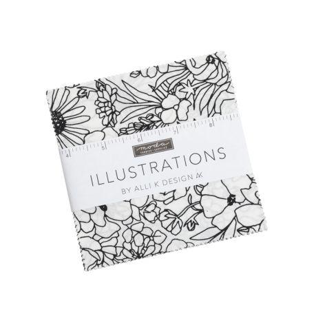 Charm Pack de tissus patchwork Illustrations