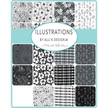 Layer Cake de tissus patchwork Illustrations