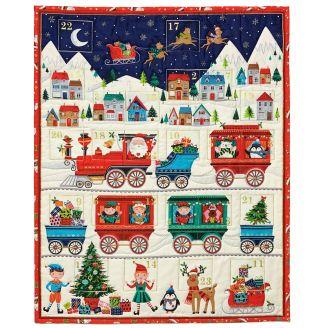 Calendrier de l'Avent le Train du père Noël - Santa Express