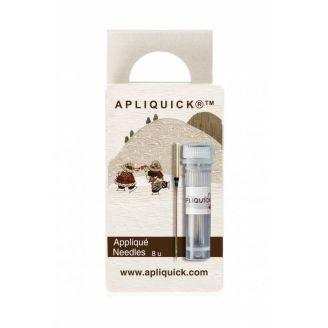 Aiguilles pour machine à coudre Apliquick spécial appliqué